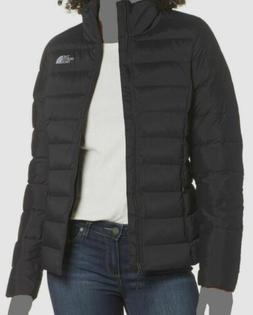 $498 The North Face Women's Slim Black Puffer Quilted Stretc