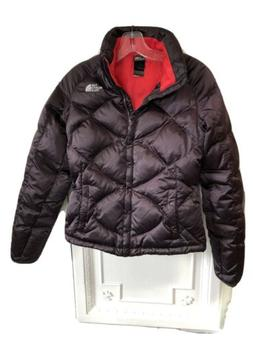 The North Face 550 Down Puffer Jacket Plum Color Womens XS D
