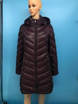 Excellent Calvin Klein Women's Hooded Quilted 90% Duck Down