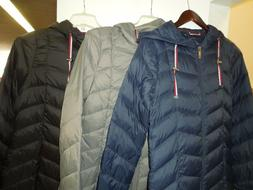 NEW-SLIGHTLY DAMAGED WOMEN'S TOMMY HILFIGER MID LENGTH PACKA