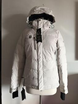 NWT ORAGE CASCADE 500 DOWN FILL PRIME FABRIC HOODED JACKET S