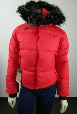 NWT Womens The North Face TNF Dealio Crop Jacket 550-Down Wi
