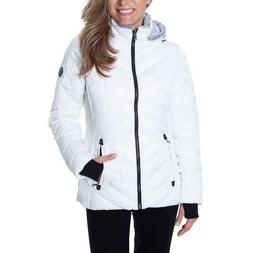 SALE! Nautica Ladies' Puffer Jacket With Removable Fur Lined
