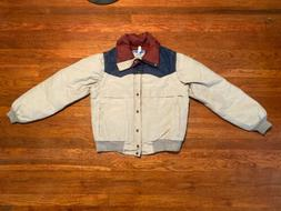 Vintage Women's Medium Down puffer jacket With Removable S