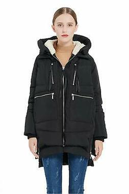 Orolay Women's Thickened Down Jacket with Hood and Windproof