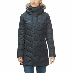 Marmot Women's Varma Long Quilted Hooded Down Jacket # Large